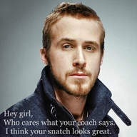 Ryan Gosling snatch